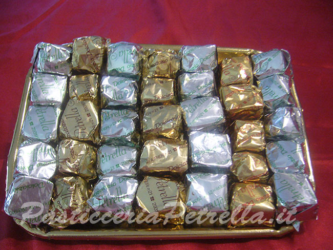 Torroncini quadrati (1 Kg)